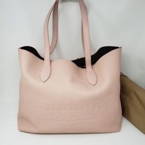 Brand New Burberry Soft Leather Remington Tote Bag